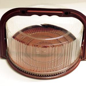 Plastic Cake Box With Handle