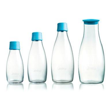 Transparent Glass Bottles