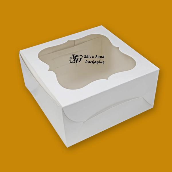 white window cake boxes